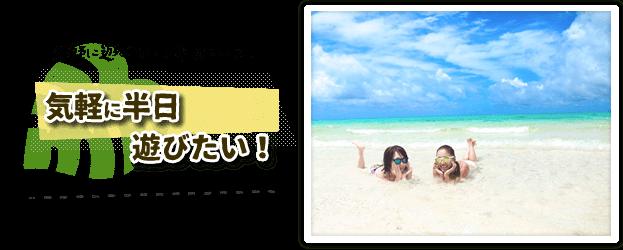 半日で遊べる石垣島