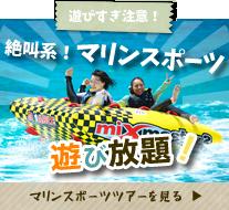 マリンスポーツ遊び放題石垣島