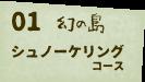 幻の島シュノーケリング