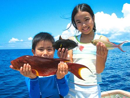 石垣島で半日釣りフィッシング