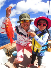 石垣島お手軽釣りツアー